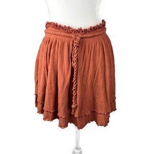 Free People Skirts - Free People Sweet Lady Layered Ruffle Skirt.